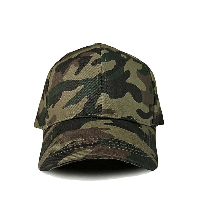 Zhou Yunshan Portátil Campamento de Verano Gorras Militares Sombreros de béisbol de Camuflaje Entre Padres e Hijos Sombreros de Actividad Escolar.