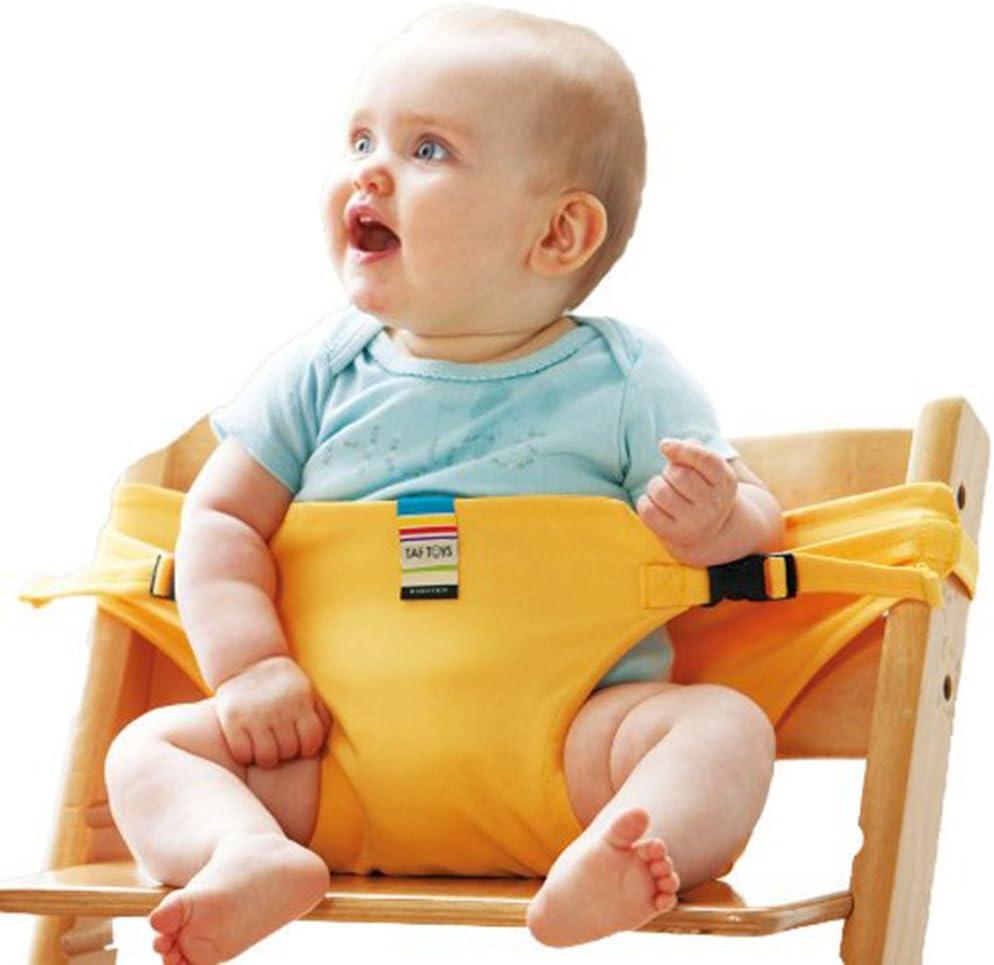 iKulilky Baby Stuhl Tragbare Reise Essen Sicherheitsgurt S/äugling Sicherheitsgurte Kind Esszimmer Mittagessen Stuhl Sicherheitsgurt F/ütterung Hochstuhl Harness Kleinkind Babysitz F/ütterung Stuhl