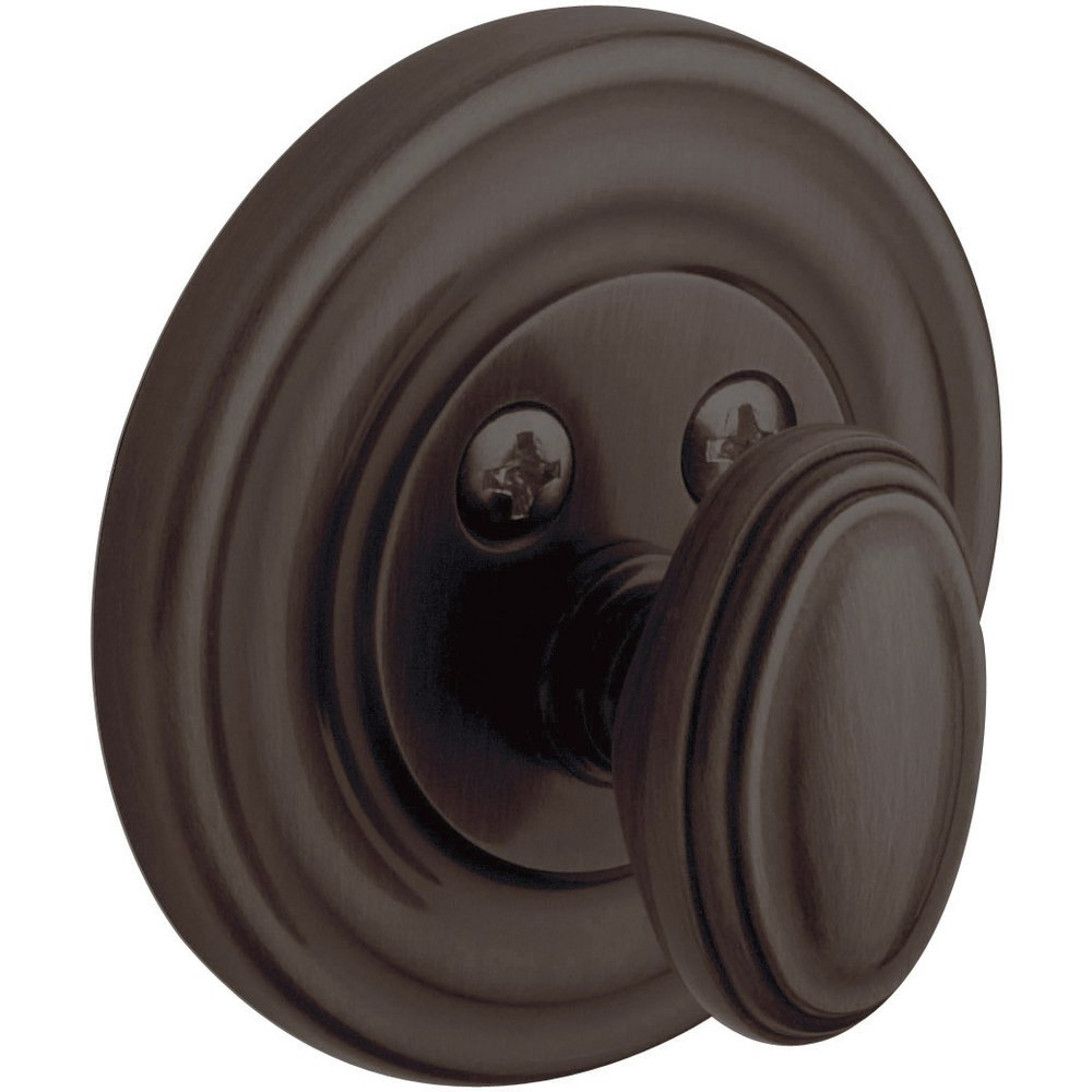 Baldwin Estate 8231.112 Low Profile Traditional Single Cylinder Deadbolt in Venetian Bronze