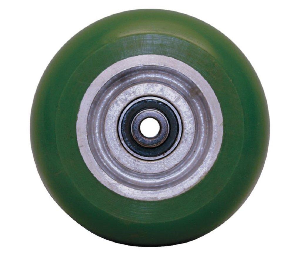 Albion PM0622808 6'' Polyurethane on Aluminum Caster Wheel, 2'' Tread Width, Precision Ball Bearing, 1250 lb. Capacity