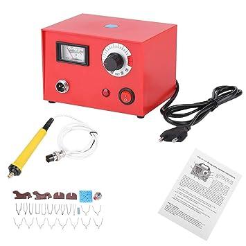 Asixx Kit Pyrogravure 50w Kit Pyrograveur Sur Bois Machine à Pyrogravure Avec Stylo à Pyrogravure Pour Dessiner Des Images Ou écrire Des Lettres