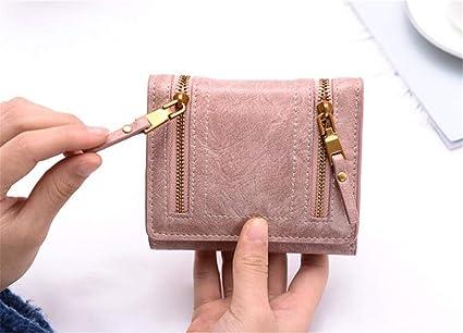 MR.MO Carteras de Mujer Nubuck Leather Long Fashion Zipper ...