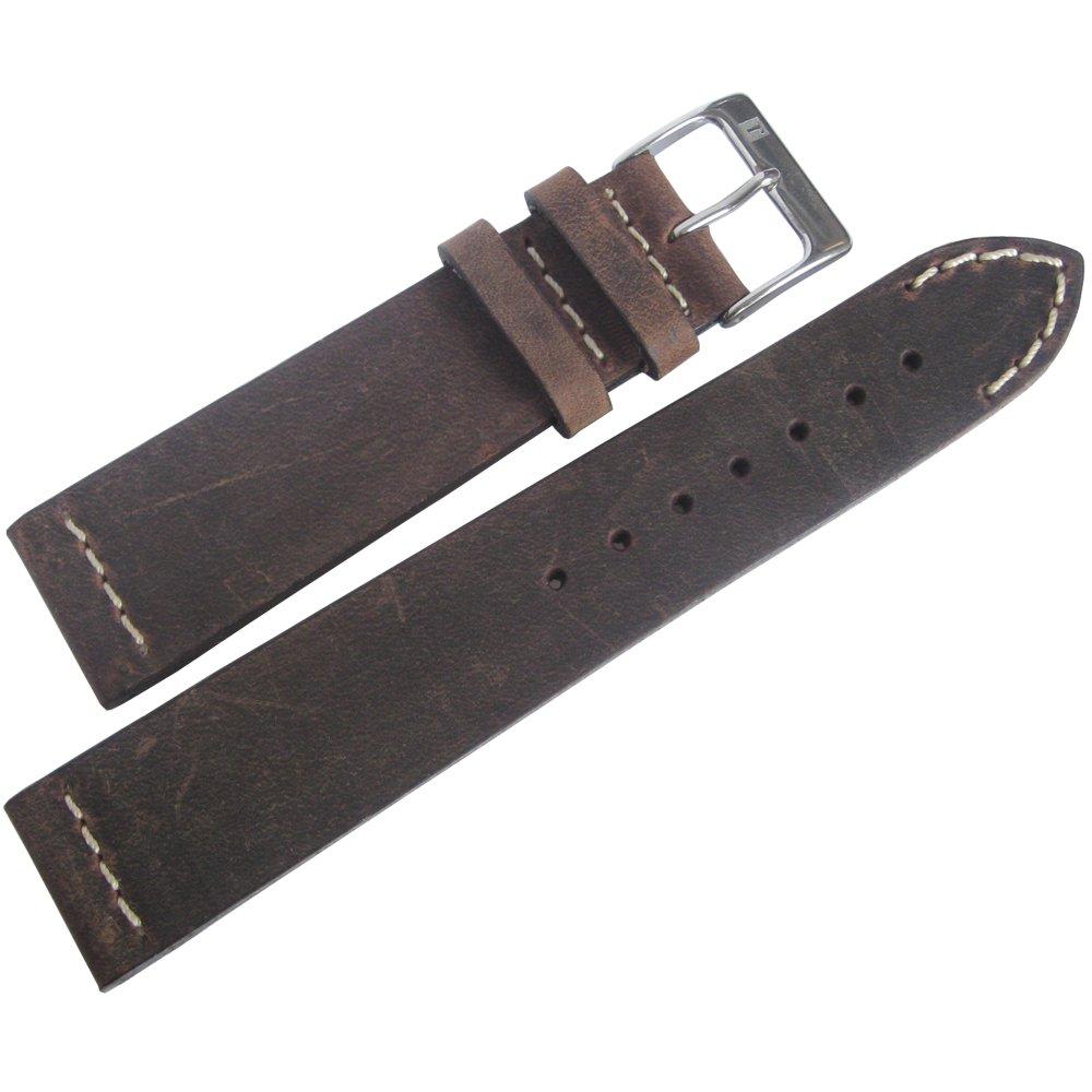ColaReb 20mm Venezia Tobacco Leather Watch Strap