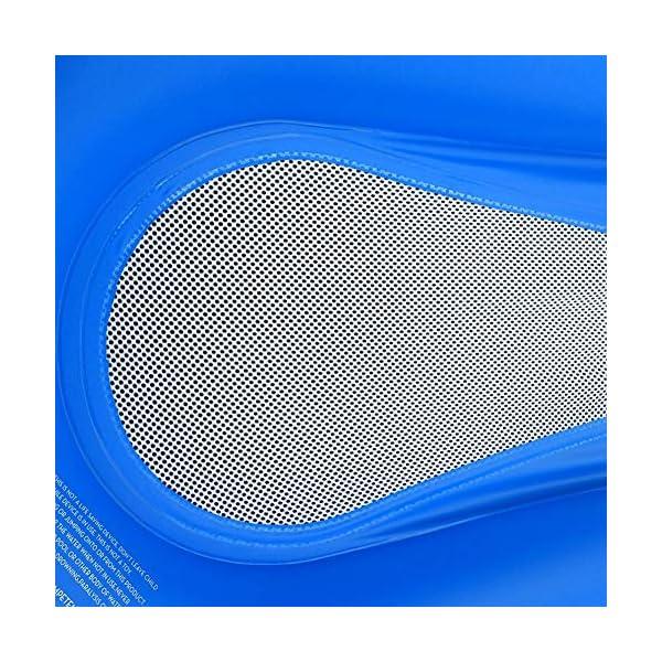 61F2dLR%2B7NL Queta Aufblasbarer Pool, Schwimmbett Hängematte Schwimmstuhl Liegestuhl Schwimmstuhl Stuhl, Pool aufblasbare Bett…