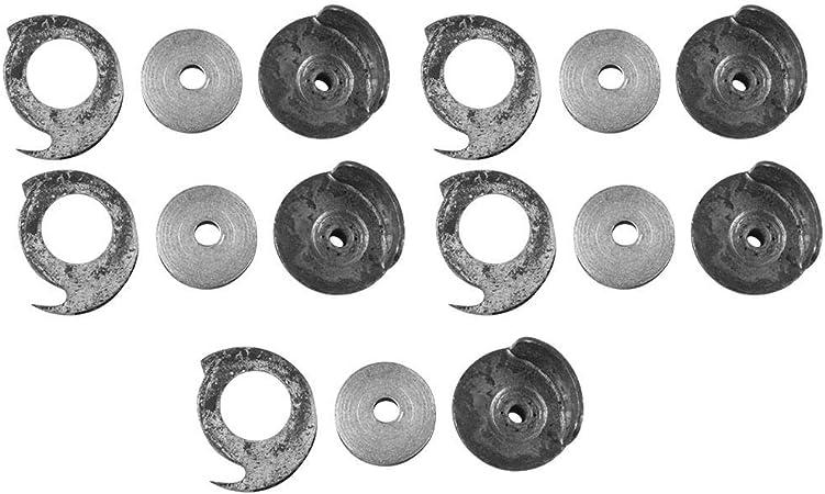 Sheens 5 Juegos de bobinas para máquinas de reparación de Zapatos y Cajas de bobinas para Piezas de máquinas de Coser: Amazon.es: Hogar