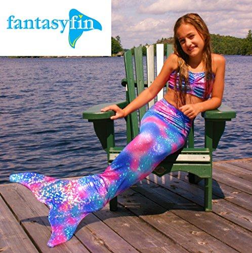 Fantasie Swimming Costume (FREE BackPack! Fantasy Fin Mermaid Tail & Fin, Fantasia)