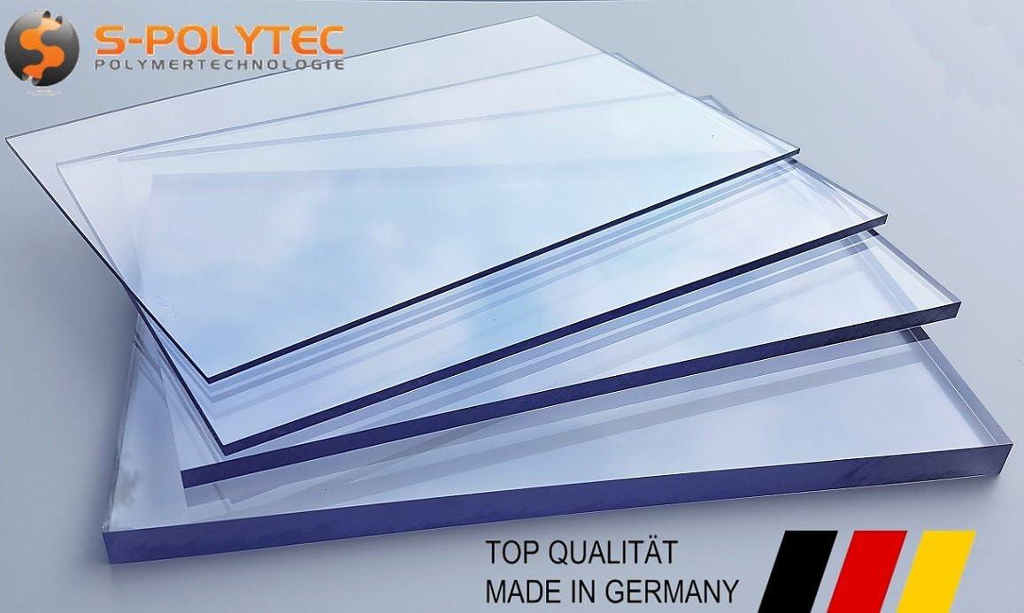 Größen 5 mm Platte Zuschnitt bruchfest klar vers PC 53,33€//m² Polycarbonat