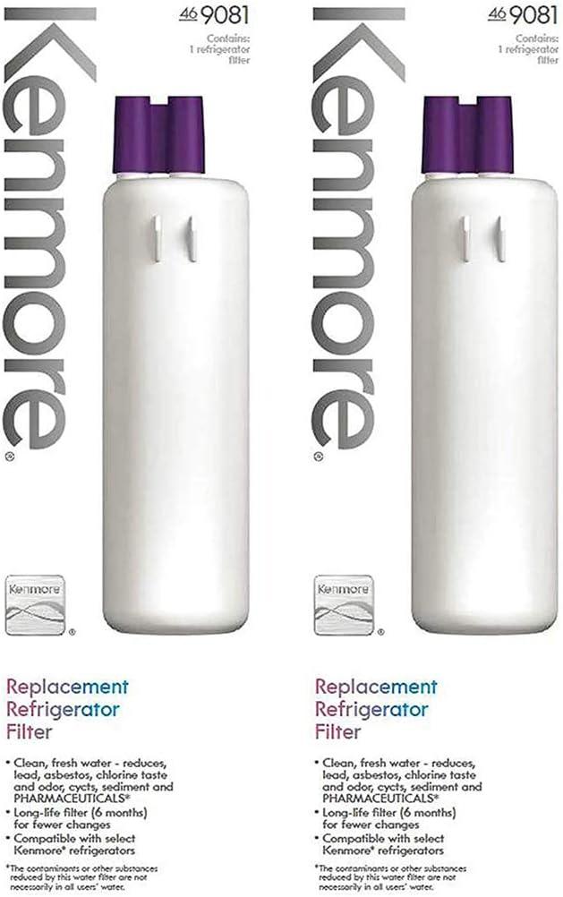 Kеnmorе 9081 Refrigerator Water Filter 2 Pack 46-9081 Replacement Refrigerator Water Filter