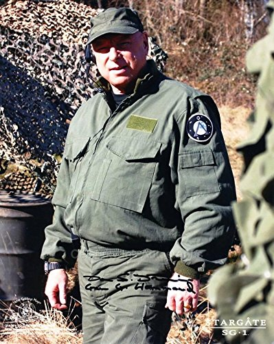 DON S. DAVIS as Major General George Hammond - Stargate SG-1 Genuine Autograph from Celebrity Ink