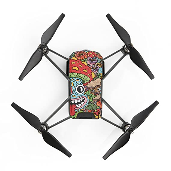 Amazon.com: Best Accessories for DJI Tello!!! Jumberri Personality Back Shell Cover Hard Shell Protector Replacement Part Tello Fuselage Cover: Home & ...