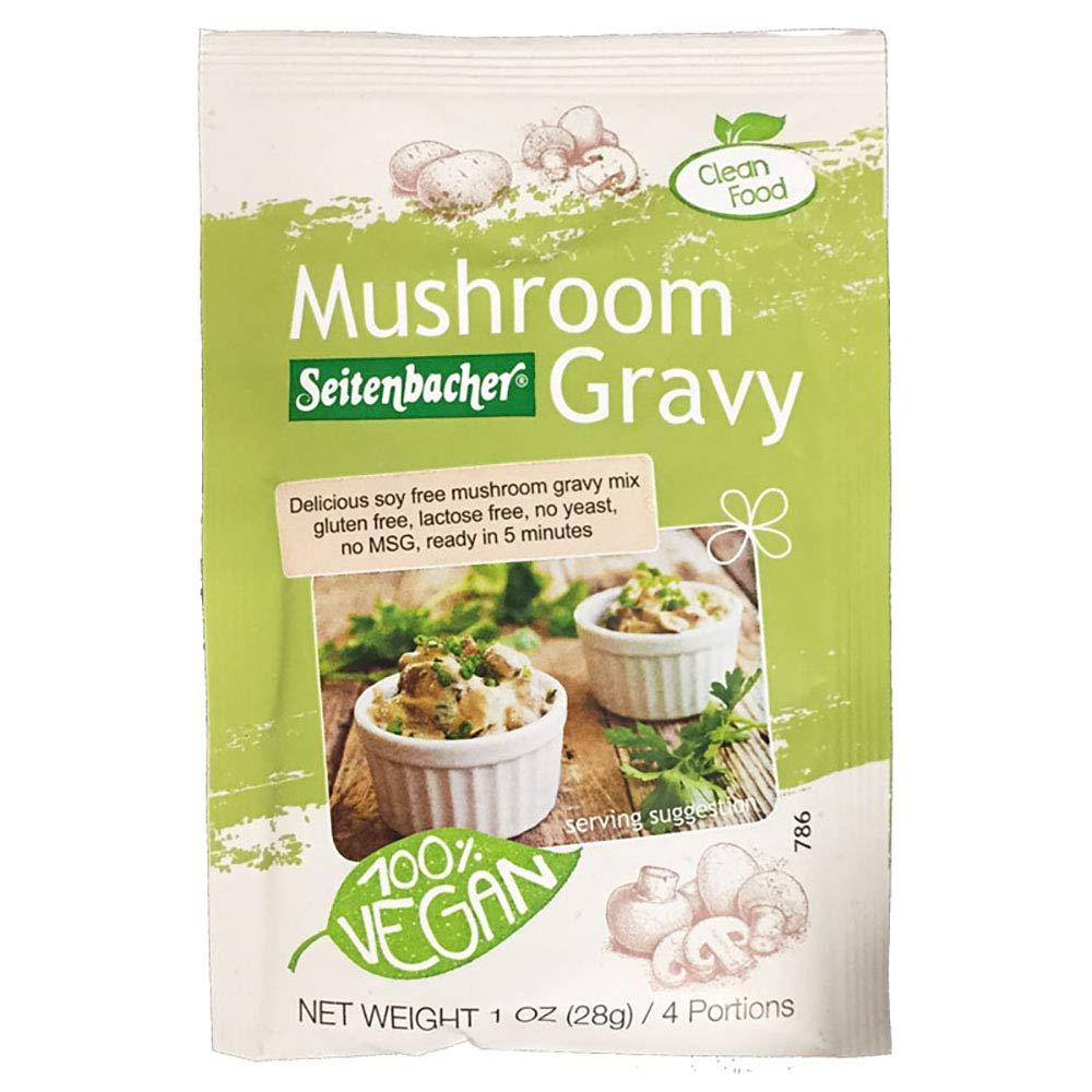 Seitenbacher Mushroom Gravy, 1.06-Ounce Pouches (Pack of 12) by Seitenbacher