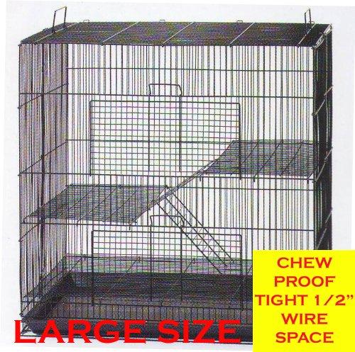 Mcage New 3 Levels Ferret Chinchilla Sugar Glider Rats Anima