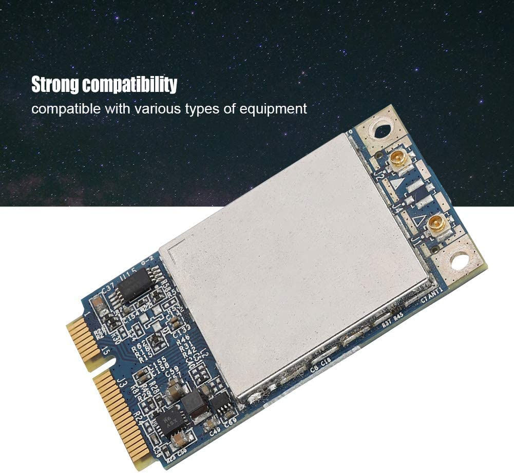 BCM94322MC Dual-Frequency 300M Mini PCI-E WiFi Wireless Network Card for MB988Z//A Network Card SOONHUA Dual Band Network Card