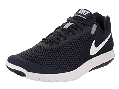 Nike Men s Flex Experience RN 6 Obsidian White Dark Obsidian Running Shoe 8  Men US f9018c1499f7