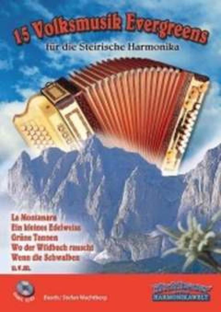 15 Volksmusik Evergreens. Handharmonika
