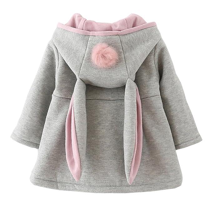 fd18815a0 Amazon.com  DORAMI Baby Girls Winter Autumn Cotton Warm Jacket Coat ...