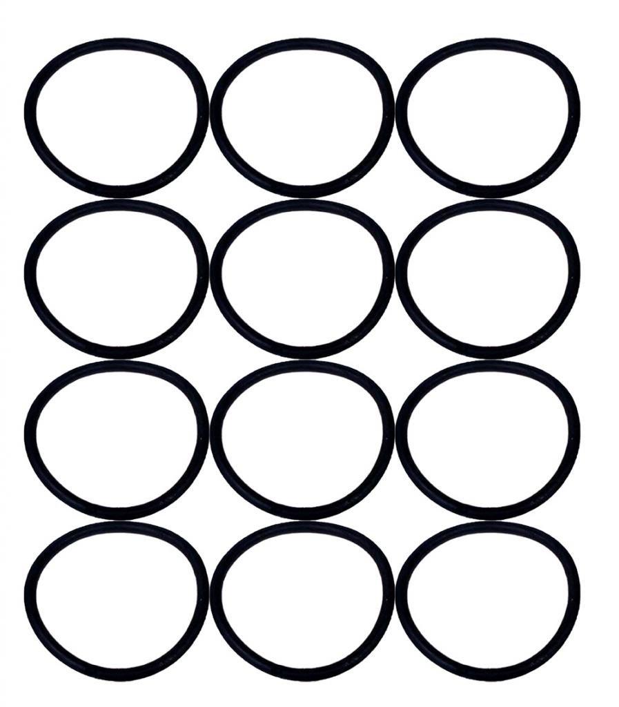 Eureka SAN-GENBELT (12 Pack) Vacuum Cleaner Rubber Brush Roll Belt, Black # E-30563-12pk 30563Bx12
