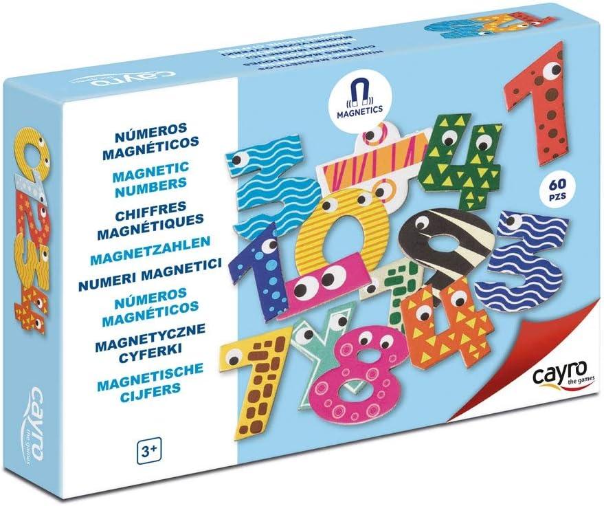 Cayro -Números magnéticos - Juego de razonamiento y Habilidades numéricas- Juego de Mesa - Desarrollo de Habilidades cognitivas y lingüísticas- Juego de Mesa (875): Amazon.es: Juguetes y juegos