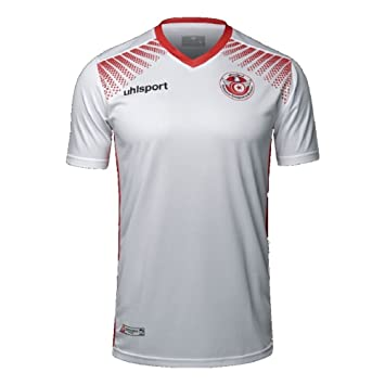 Uhlsport Tunesia Tunisia Home Shirt 17 18  Amazon.co.uk  Sports ... c88b4e754