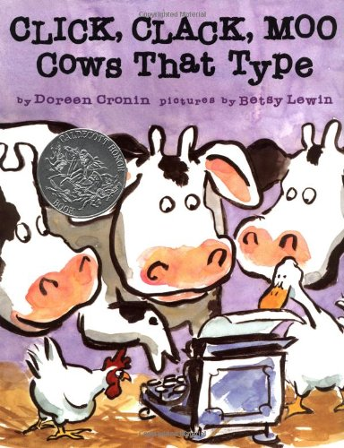 Book Cover: Click, Clack, Moo: Cows That Type