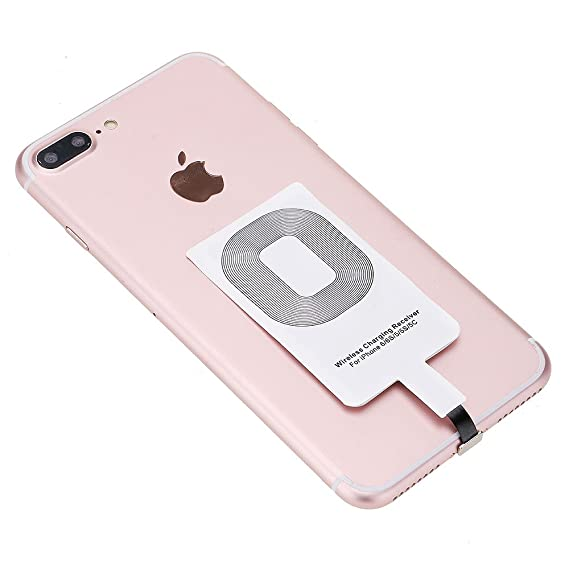 HuntGold Qi Wireless Charger Transmitter Charging Receiver Pad Coil for  iPhone 7,iPhone 7Plus,iPhone 6Plus,iPhone 6,iPhone 6S,iPhone 5,iPhone