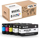 [Upgraded Chip] TESEN Compatible 952 XL Ink Cartridge Replacement for HP 952 952XL Ink for HP Office Jet Pro 8710 8720 8702 8