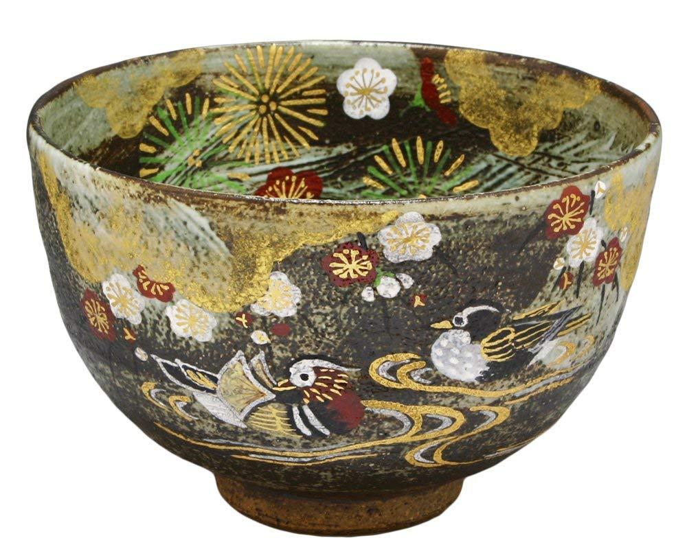 KIYOMIZU Ware Matcha Bowl (Wooden Box) KISSHO
