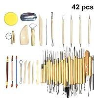 Juego de 42 herramientas para moldeado de esculturas