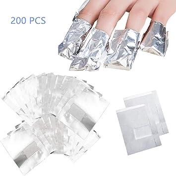 Amazon Com Cheaboom Gel Nail Polish Remover Glitter Soak Off Foil