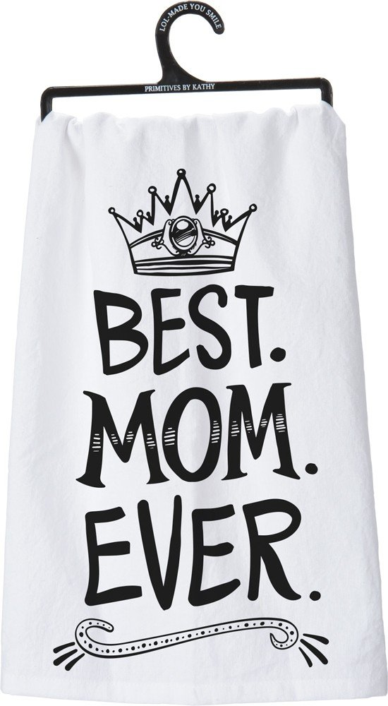 Cotton Dish Towel, Best.Mom.Ever