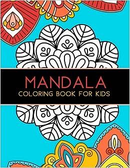 ONLINE Mandala Coloring Book For Kids: Big Mandalas To Color For Relaxation. Viajes completo ddyfod Viajar GRILL Corner