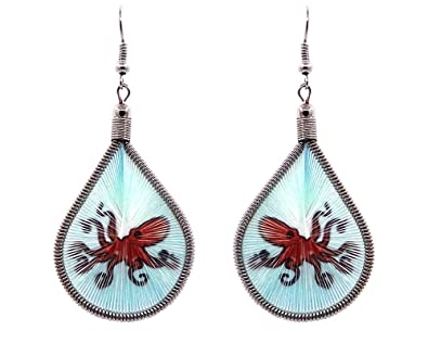 Amazon.com: Mia Jewel Shop Octopus - Pendientes colgantes ...