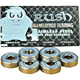 Rush All-Weather Abec 3 Stainless Steel Skateboard Bearings