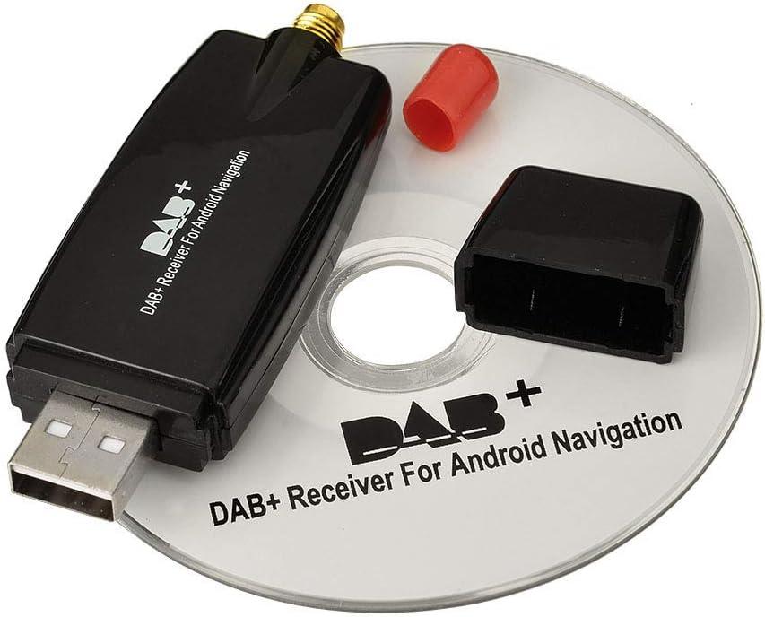 Eightwood Dab Stick Usb 2 0 Digital Radio Tuner Receiver For Android 4 0 Car Dvd Player Stereo Usb Dab Car Radio Multi Way Elektronik