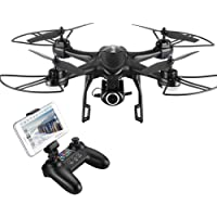 Hobbytiger 720p Ranger Drone with Camera with Camera Live Video and GPS Return Home 720P HD Wide-Angle WiFi Camera