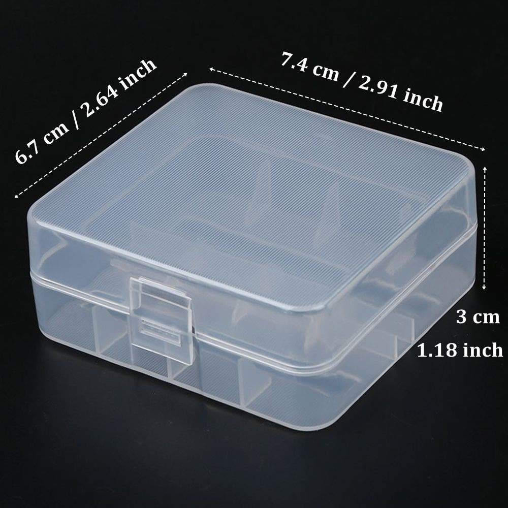 Electronics Battery Storage Containers ghdonat.com TXIN 8 Pieces ...