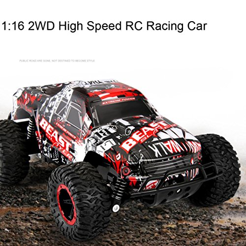 16 Nitro Powered Buggy (Excellent 1:16 2WD High Speed RC Racing Car Remote Control Truck Off-Road Buggy Toys Dreamyth (red))