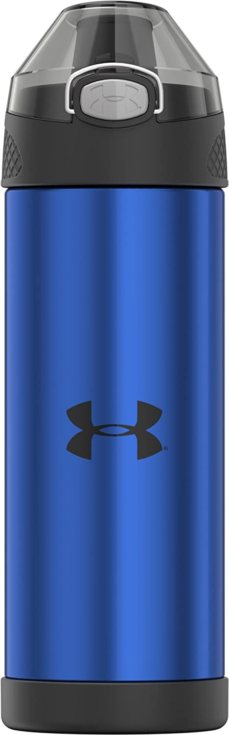 6f4876469d ... Under Armour Protege 16 Ounce Stainless Steel Water Bottle, Academy  Stripe Thermos US4508AS4 ...