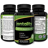 Cognitive Brain Health Supplement, Brain Booster – by Light Within LLC – to Enhance Focus, Mental Clarity, Improve Memory with Asian Ginseng and Ginkgo Biloba