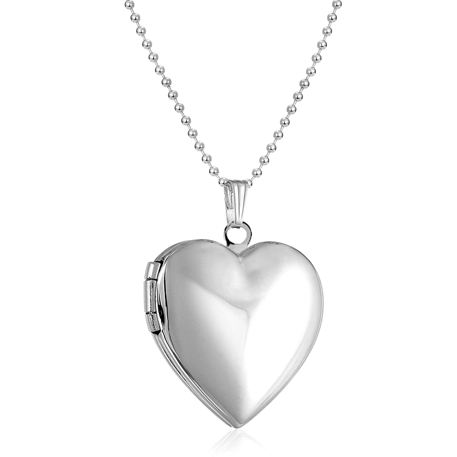 Polished Love Heart Locket Pendant Necklace Hold Pictures Locket for Women Kids Lockets Rose Gold Plated XingYue pandöra charms SCC035