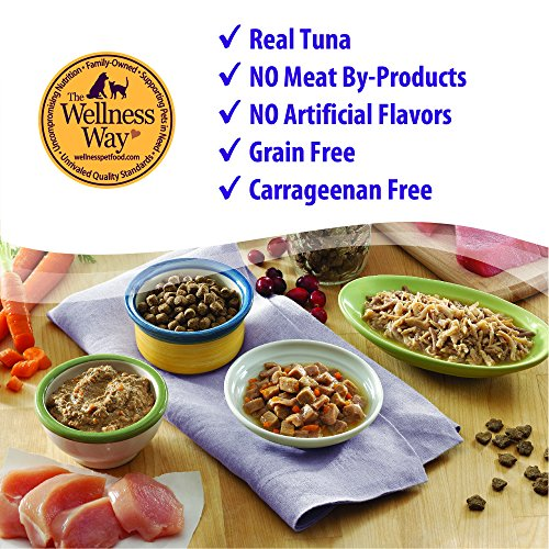 Wellness Natural Grain Free Wet Canned Cat Food, Sliced Chicken Entree , 3-Ounce Can (Pack of 24)