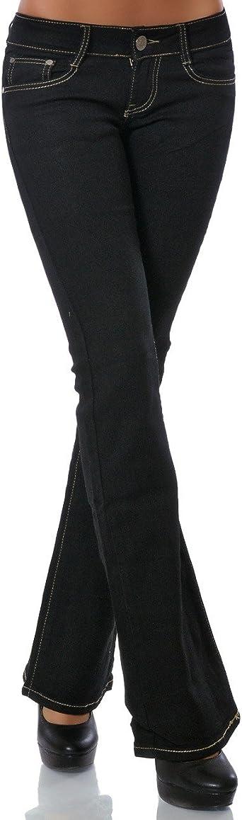 Damskie spodnie jeansowe ze stretchu DA 13508: Odzież