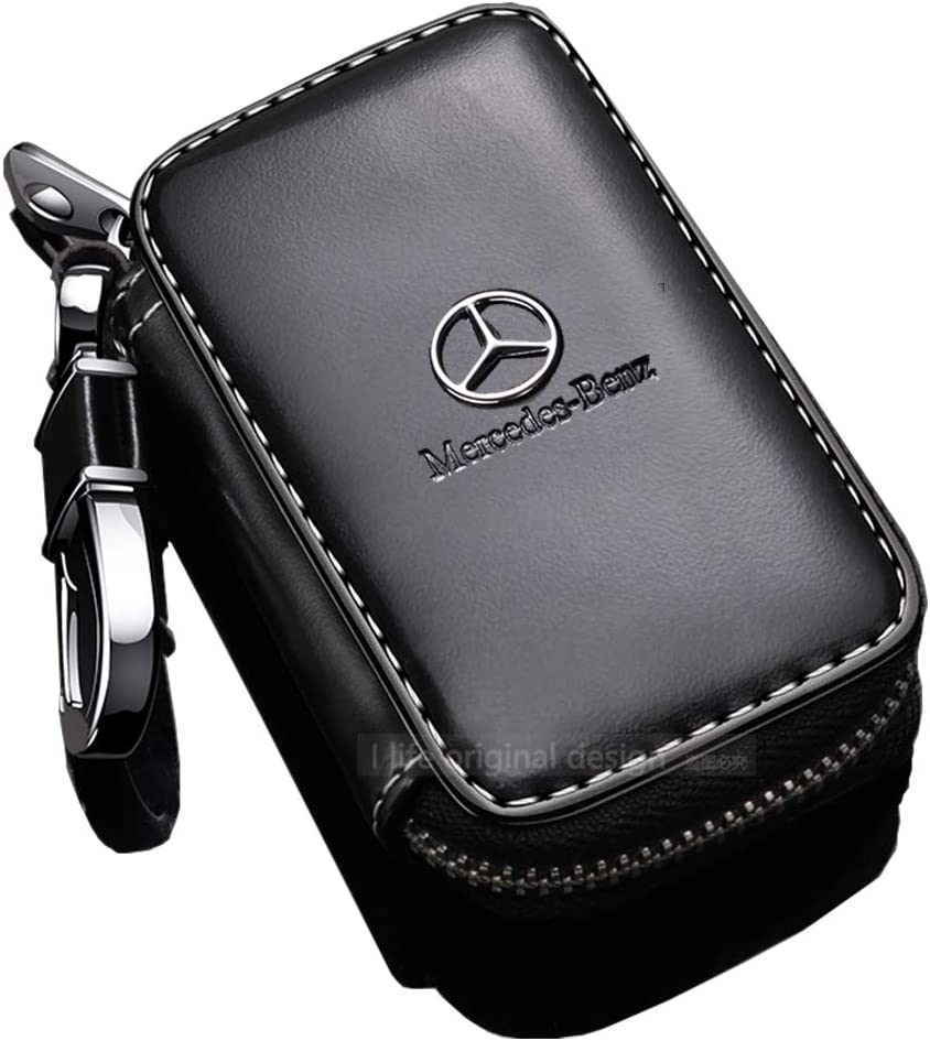 black jeep fit jeep Key Case,Car Tag Black Leather Material Remote Keychain
