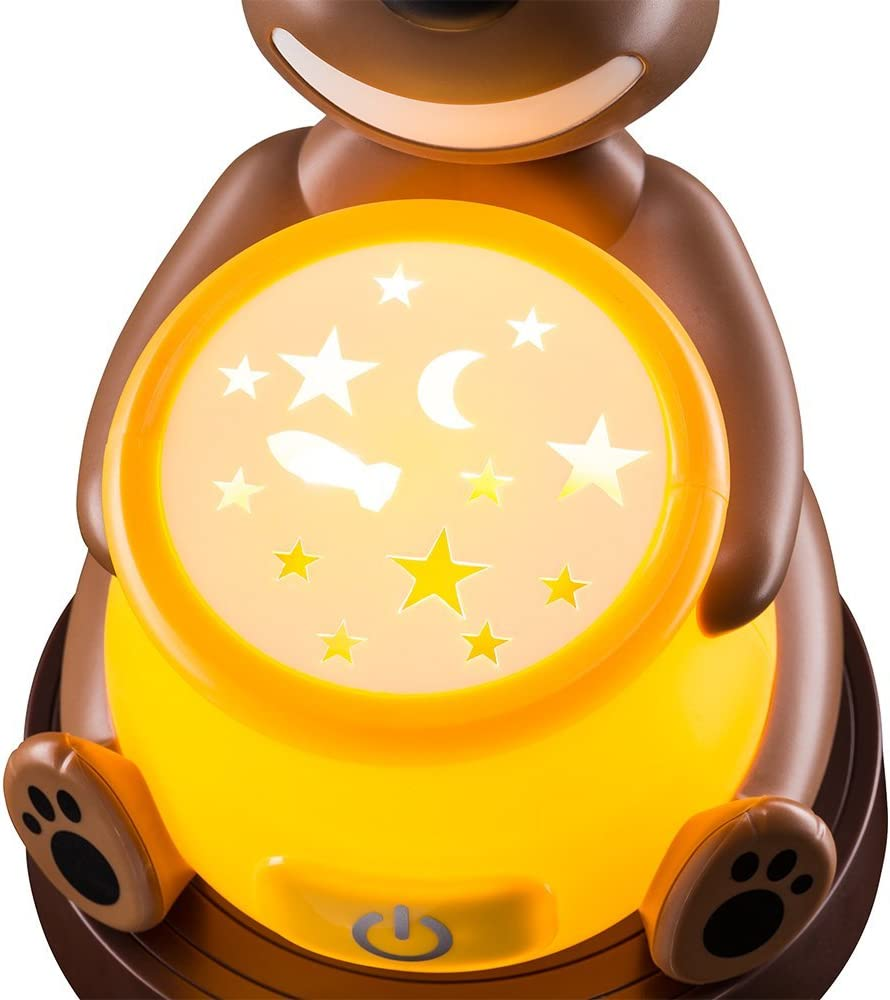 Varta Paul The Bear Flash Light lampada-torcia LED /à Forme de Fus/ée pour enfants avec fonction de veille automatique Stylet et 2/ piles high energy AA incluses Lampe de chevet
