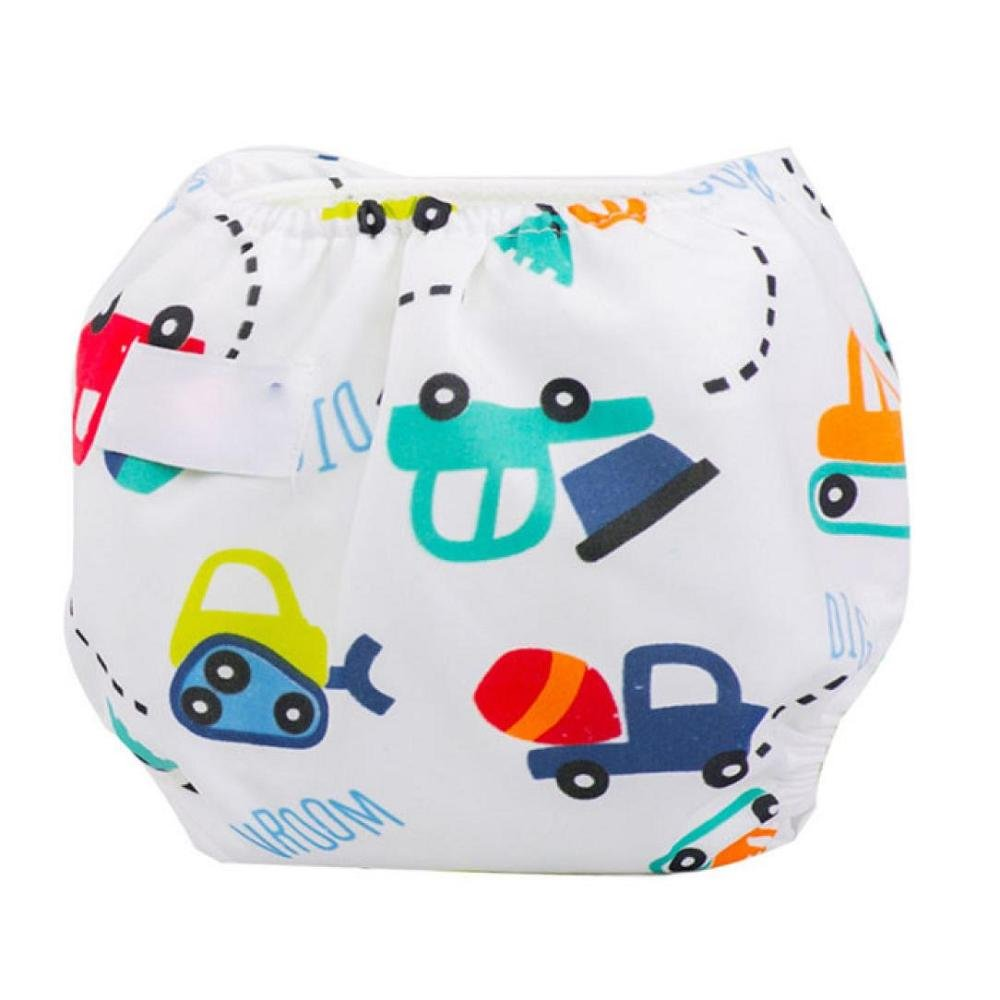 FTXJ Newborn Baby Summer Cute Cloth Diaper Cover Adjustable Reusable Nappy (G) by FTXJ (Image #2)