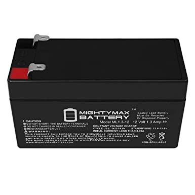12V 1Amp Charger Mighty Max 12V 7.2AH Battery Replaces Viking X-9 Swing Gate