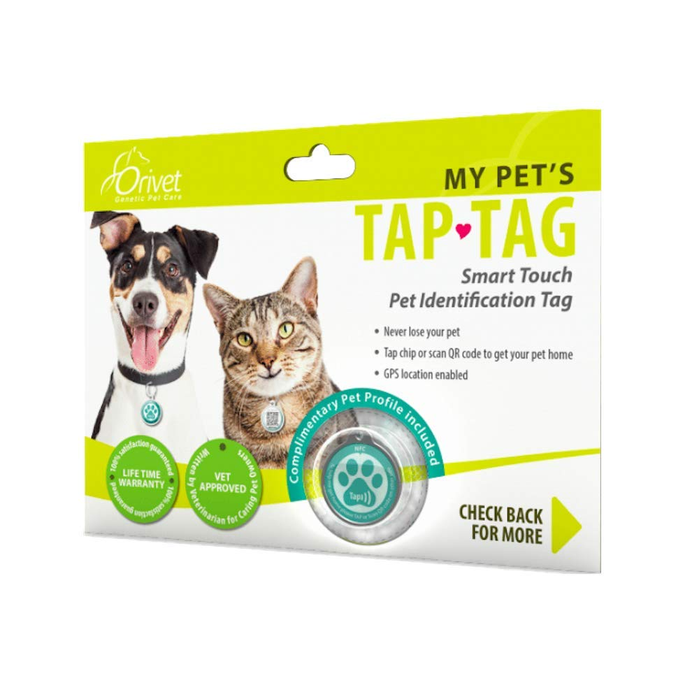 Orivet Smart Dog Tag and Cat Tag | Pet Identification GPS Location Tag by ORIVET