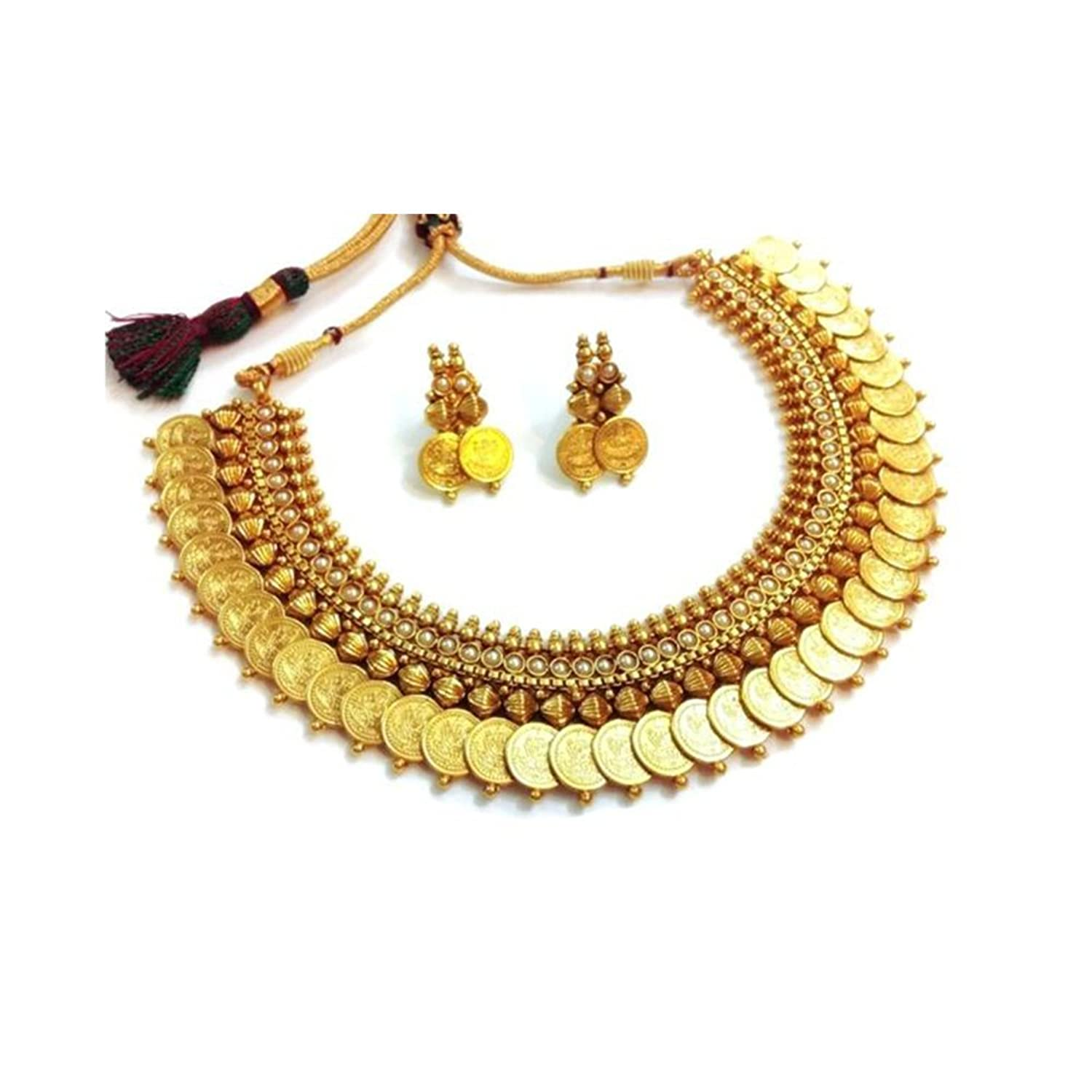 set plated goldplated long maalyaa necklace women gold
