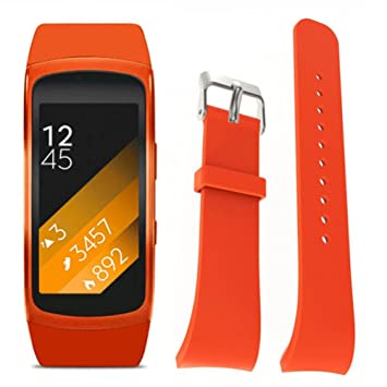Amazon.com: Strap For Samsung Gear Fit2 Pro Fitness ...