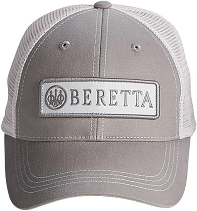 BERETTA - Gorro para Hombre, Unisex, BC06201660, Gris/Blanco ...